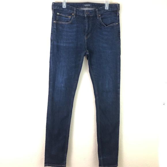 Scotch & Soda Denim - Scotch & Soda Jeans Skinny Sz 33 Dark Wash Blue